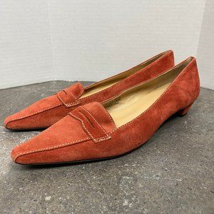 J. Crew Princeton Suede Loafers